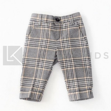 Patterned Cloth Trousers...